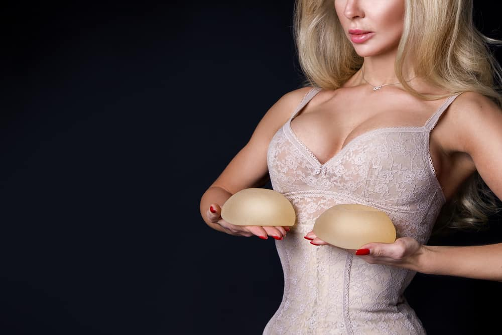 natural loose breasts vs silicone breasts