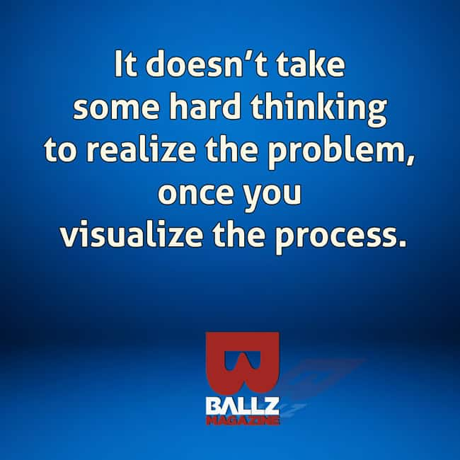 success in life largely depends on your willingness to visualize the process