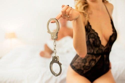 how to make love to a woman handcuff her